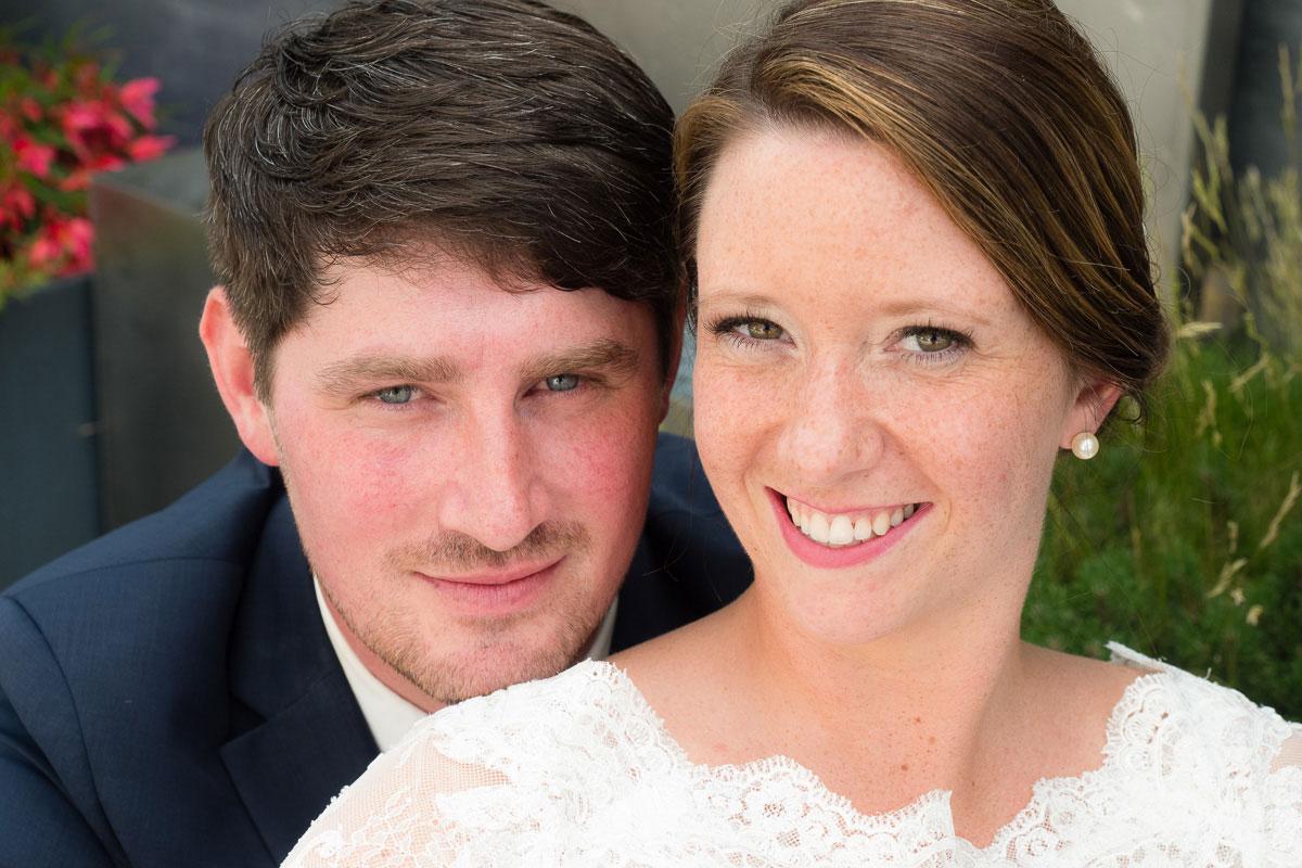Portrait von einem Hochzeitspaar
