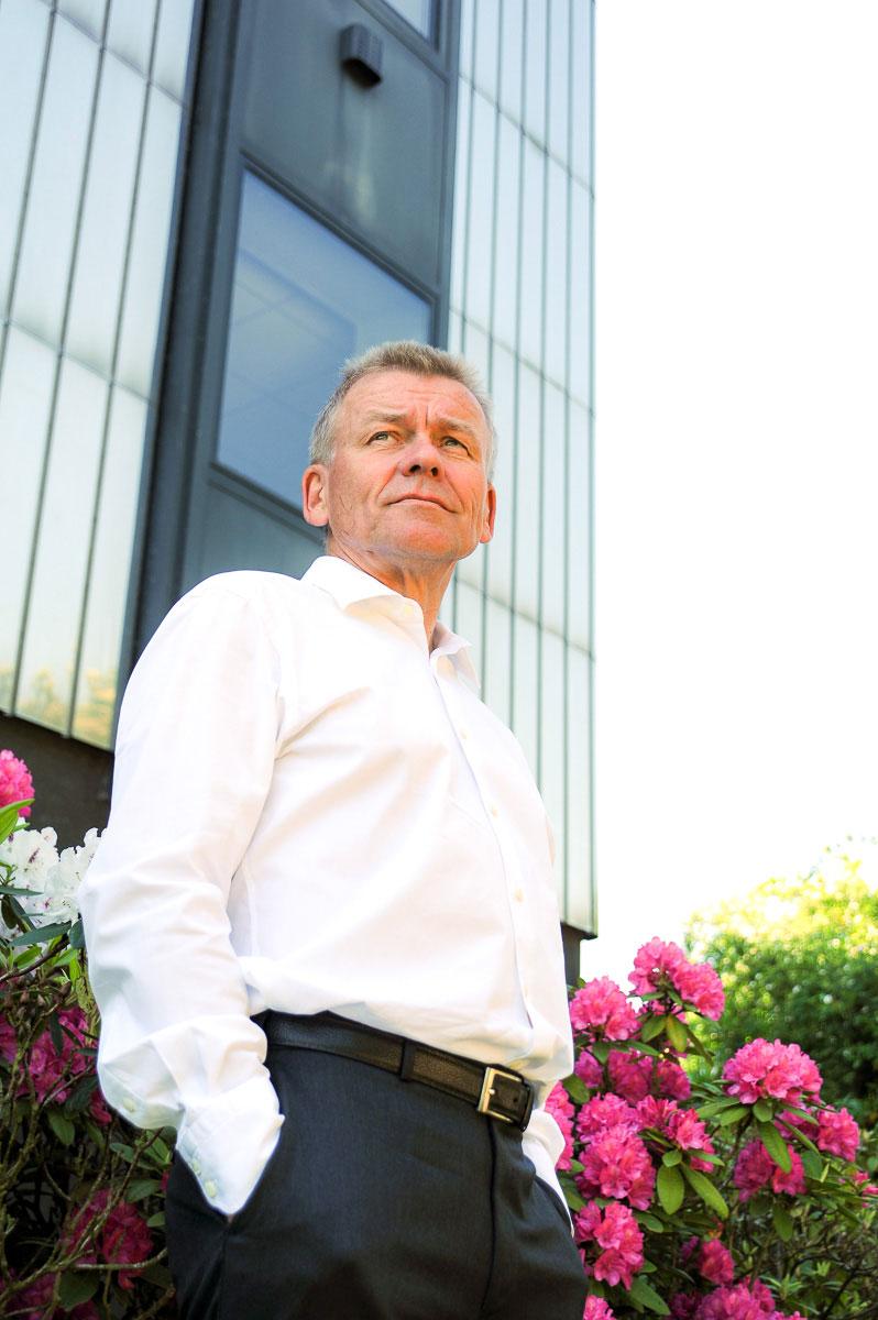Imageportrait eines Geschäftsführers