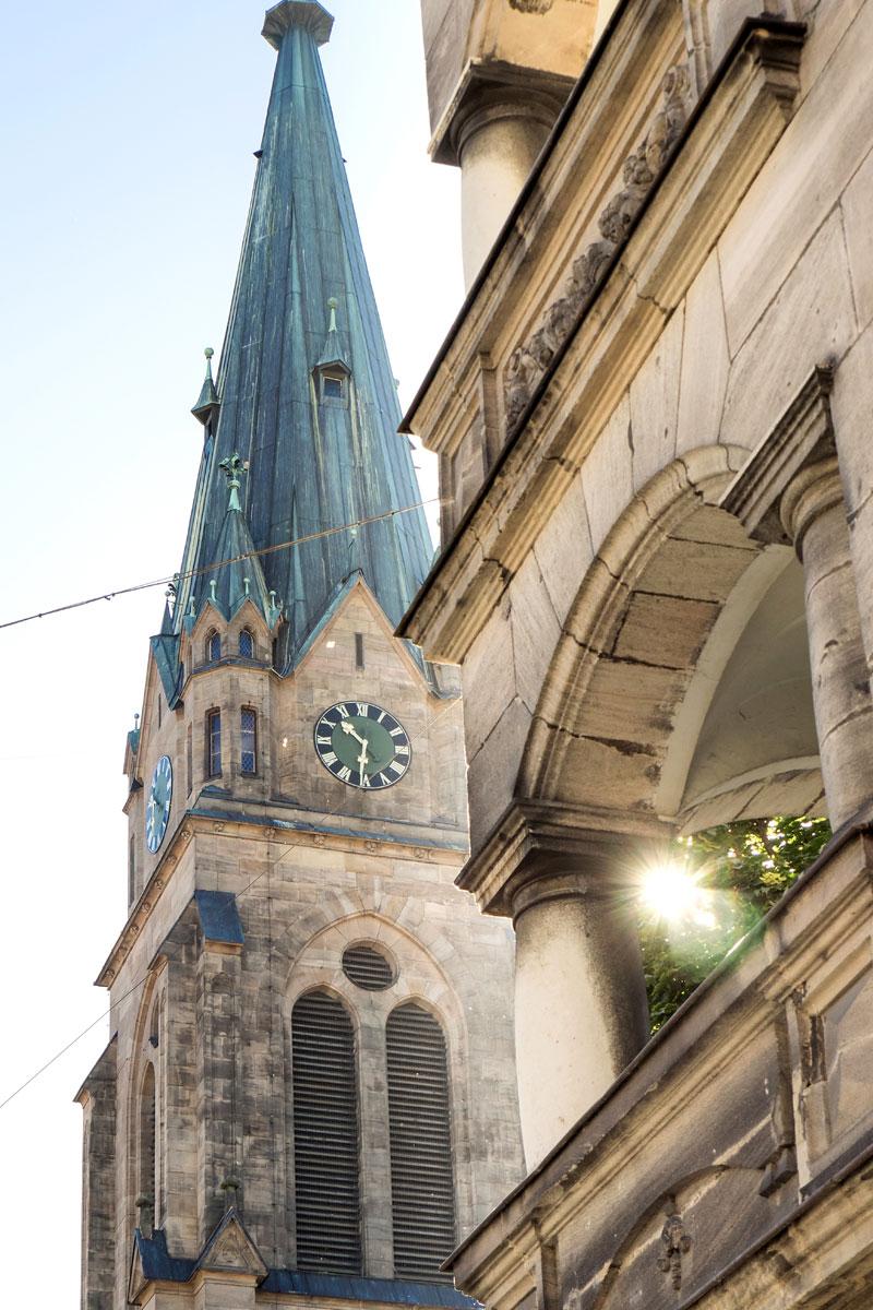 Die Kirche St. Heinrich in der Fürther Südstadt